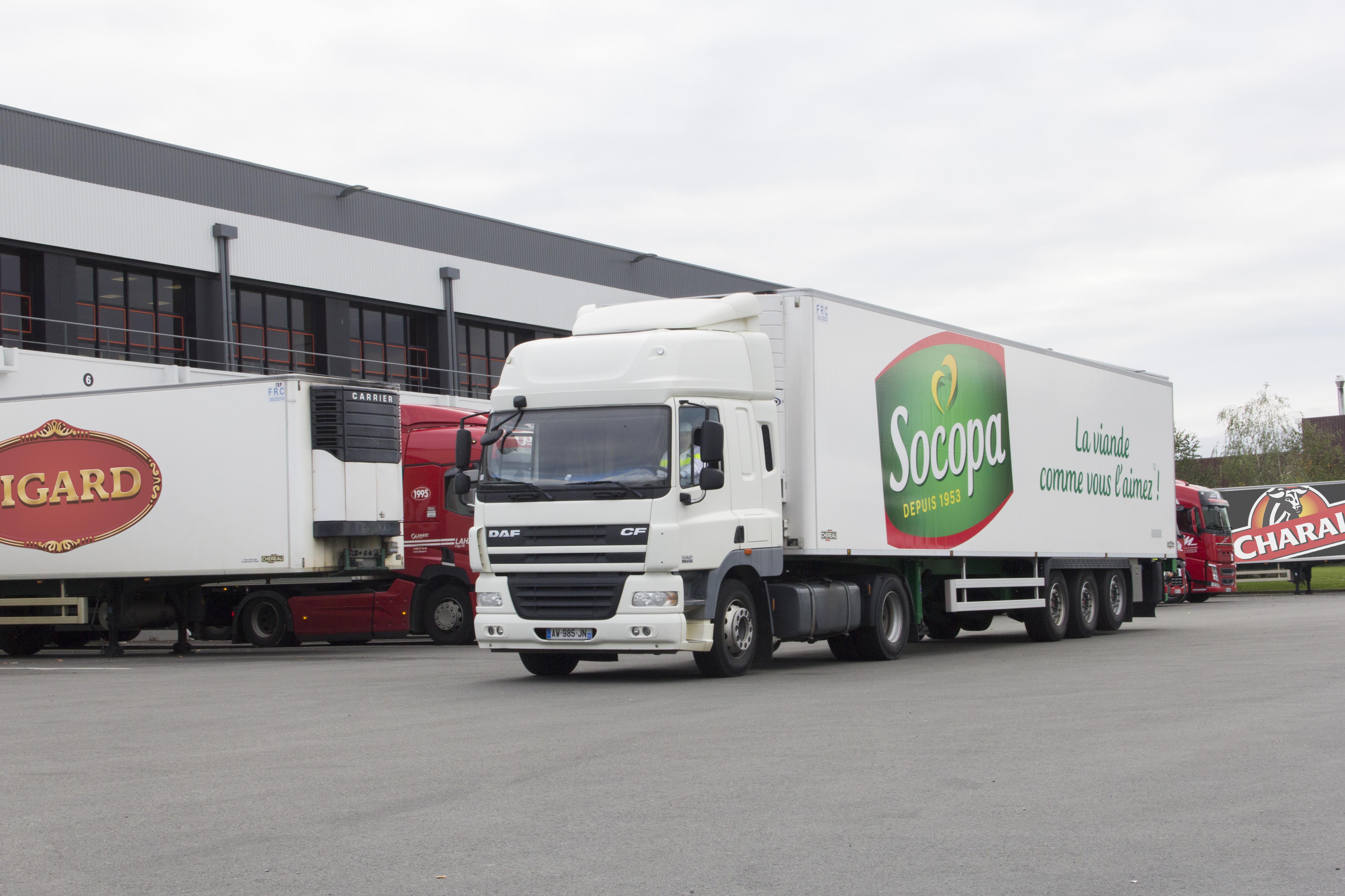 La logistique dans le Groupe Bigard